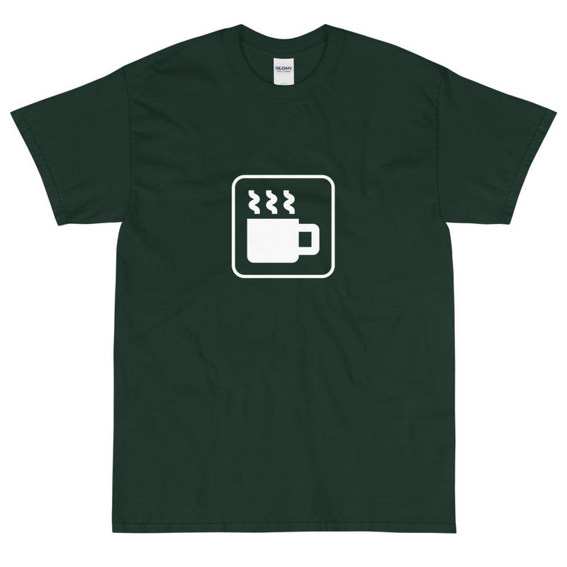 Coffee Icon T-Shirt-Fell Casuals