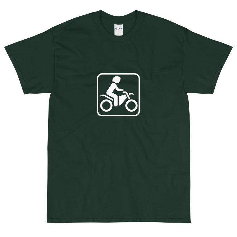 Dirt Bike Icon T-Shirt-Fell Casuals