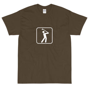 Golfing Icon T-Shirt-Fell Casuals