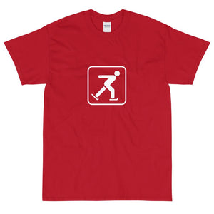 Ice Skating Icon T-Shirt-Fell Casuals