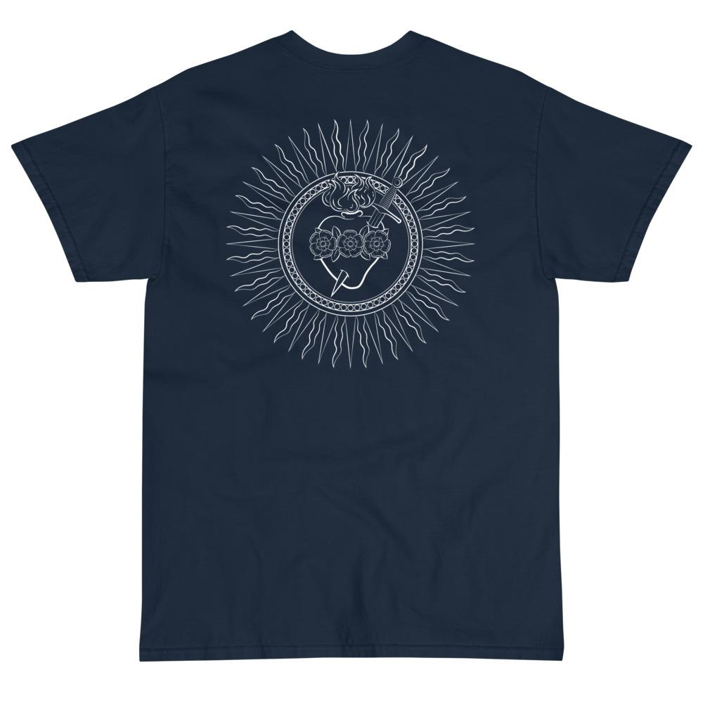 Immaculate Heart T-Shirt (White)-Fell Casuals