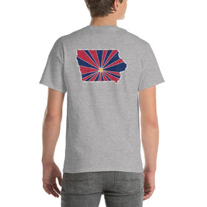Iowa Starburst T-Shirt-Fell Casuals