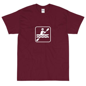 Kayaking Icon T-Shirt-Fell Casuals
