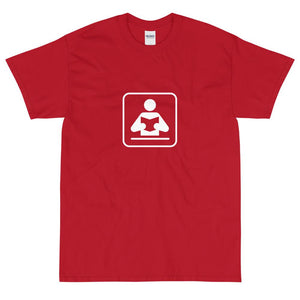 Library Icon T-Shirt-Fell Casuals