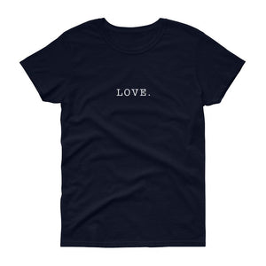 Love. Women's Tee-Fell Casuals