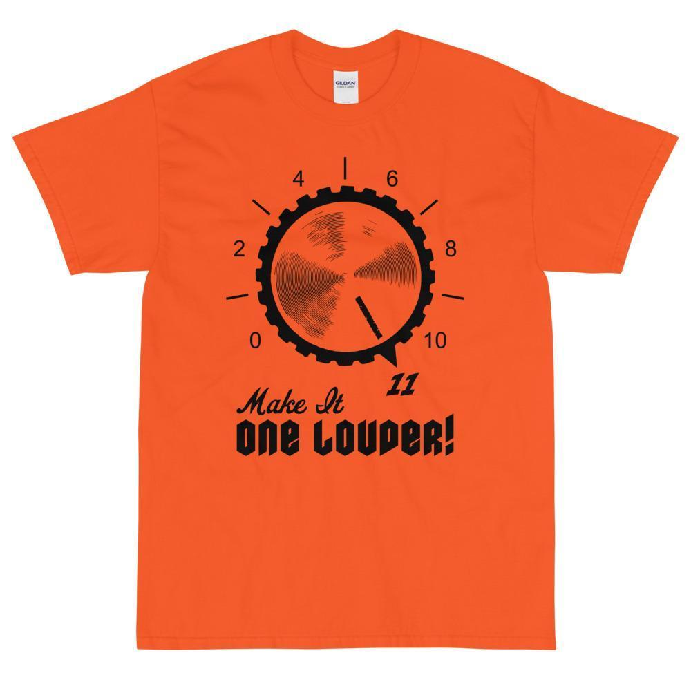 Make It One Louder! T-Shirt (Black)-Fell Casuals