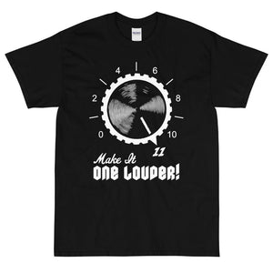 Make It One Louder! T-Shirt (White)-Fell Casuals