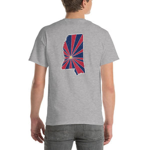 Mississippi Starburst T-Shirt-Fell Casuals