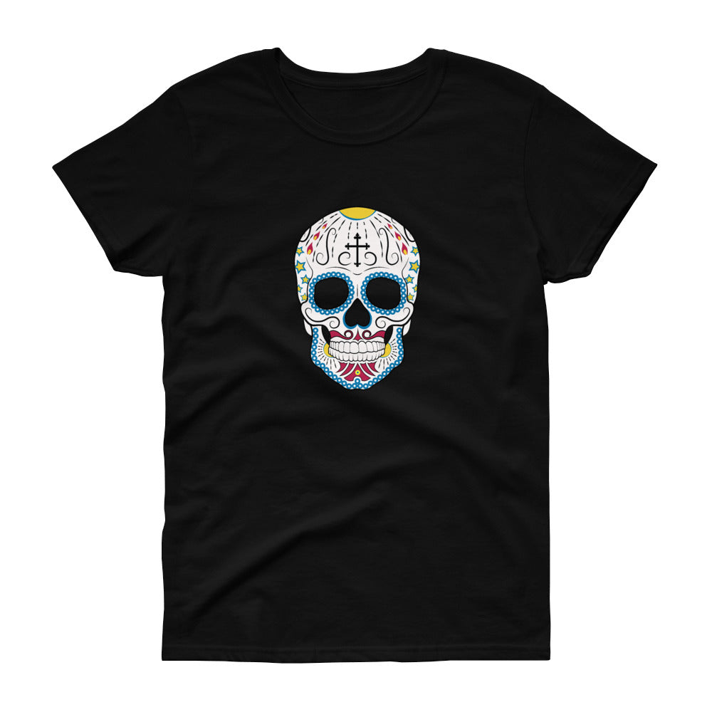 Day of the Dead Cross Women's Tee