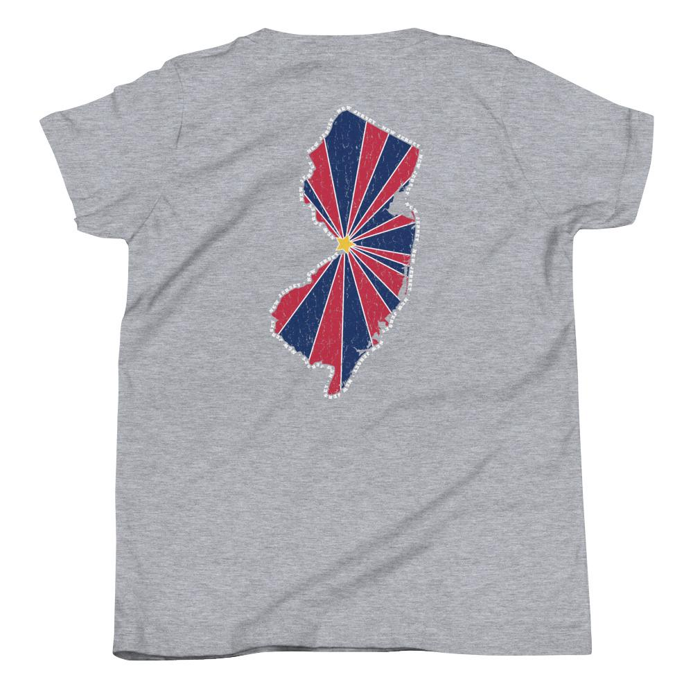 New Jersey Starburst Youth T-Shirt-Fell Casuals