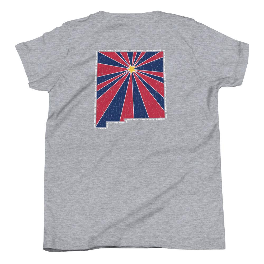 New Mexico Starburst Youth T-Shirt-Fell Casuals