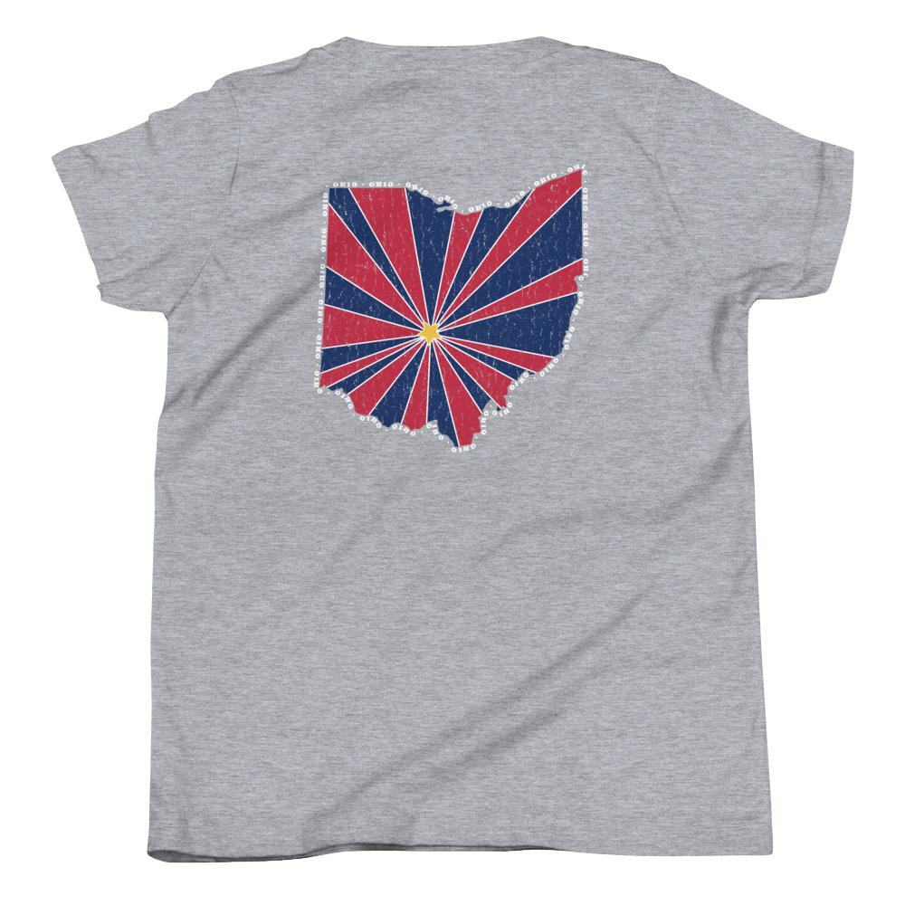 Ohio Starburst Youth T-Shirt-Fell Casuals