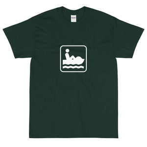 Paddle Boating Icon T-Shirt-Fell Casuals
