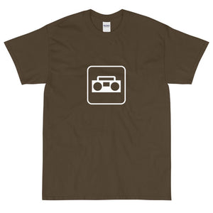 Radio Icon T-Shirt-Fell Casuals