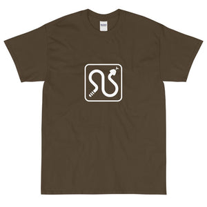 Rattlesnake Icon T-Shirt-Fell Casuals