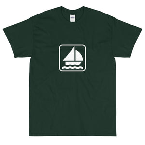Sailing Icon T-Shirt-Fell Casuals