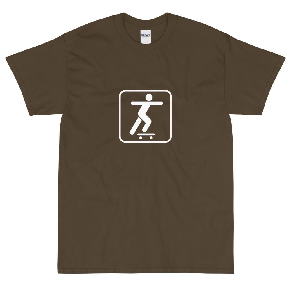 Skateboarding Icon T-Shirt-Fell Casuals