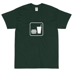 Snack Bar Icon T-Shirt-Fell Casuals