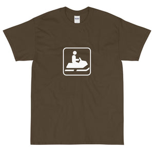 Snow Machine Icon T-Shirt-Fell Casuals
