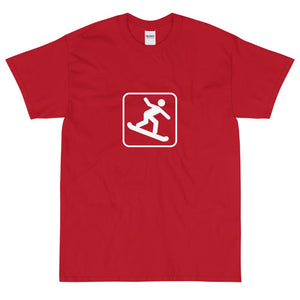 Snowboarding Icon T-Shirt-Fell Casuals