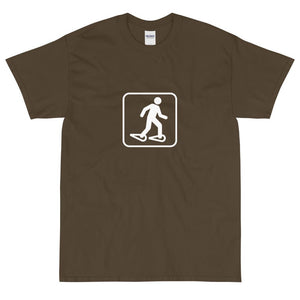 Snowshoeing Icon T-Shirt-Fell Casuals