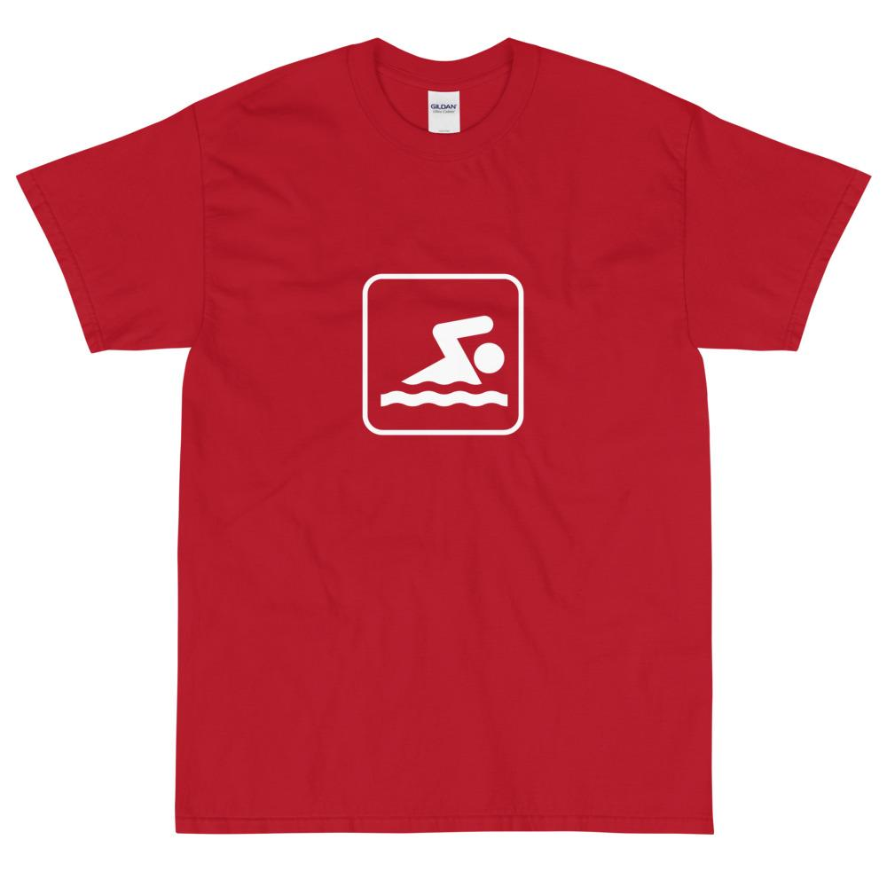 Swimming Icon T-Shirt-Fell Casuals