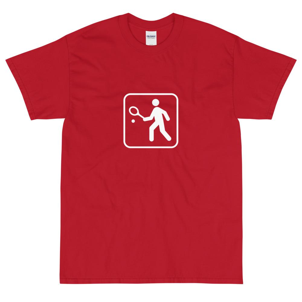 Tennis Icon T-Shirt-Fell Casuals