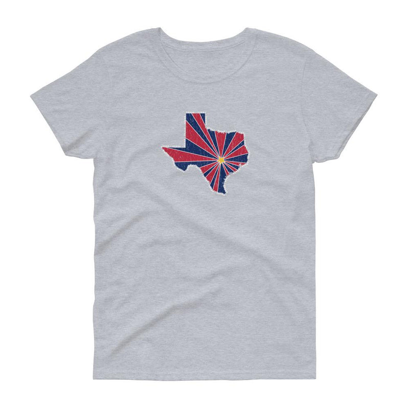 Texas Starburst Women's Tee-Fell Casuals