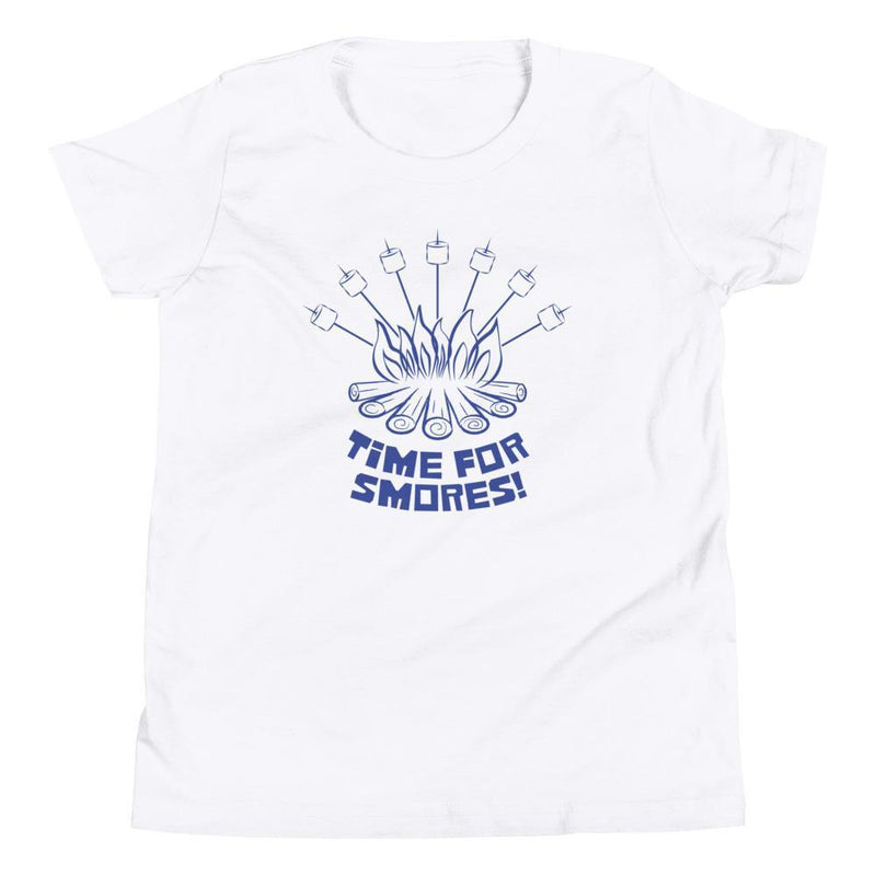 Time For Smores! (Blue) Youth Tee-Fell Casuals