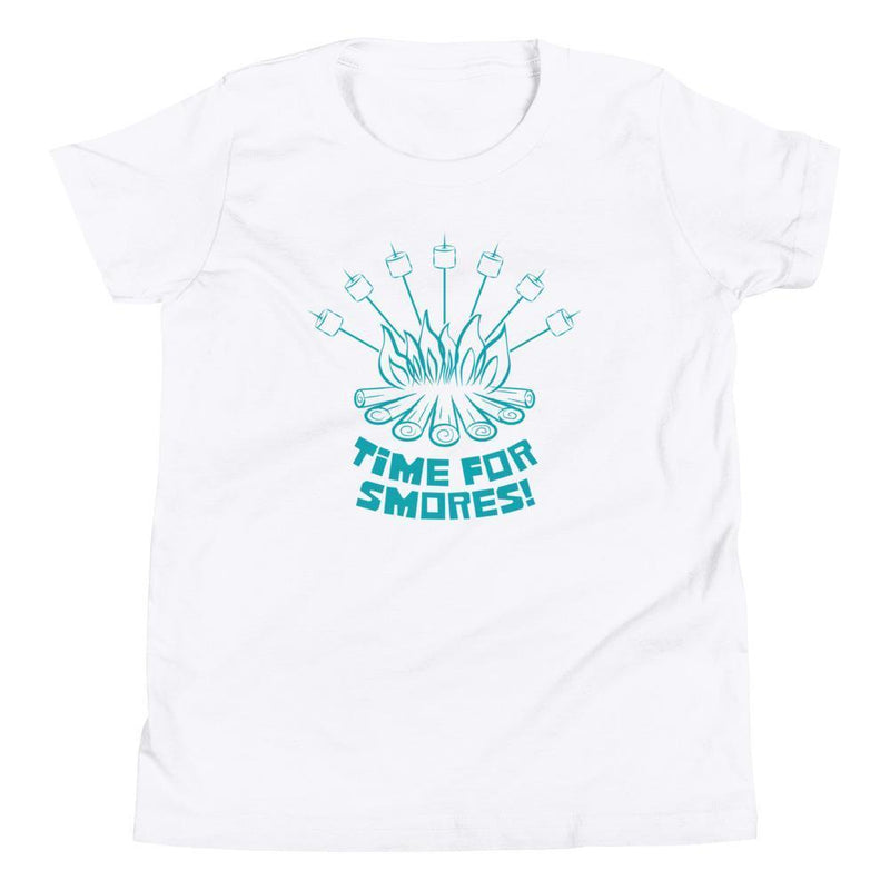 Time For Smores! (Teal) Youth Tee-Fell Casuals