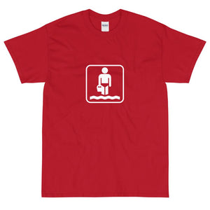 Wading Icon T-Shirt-Fell Casuals