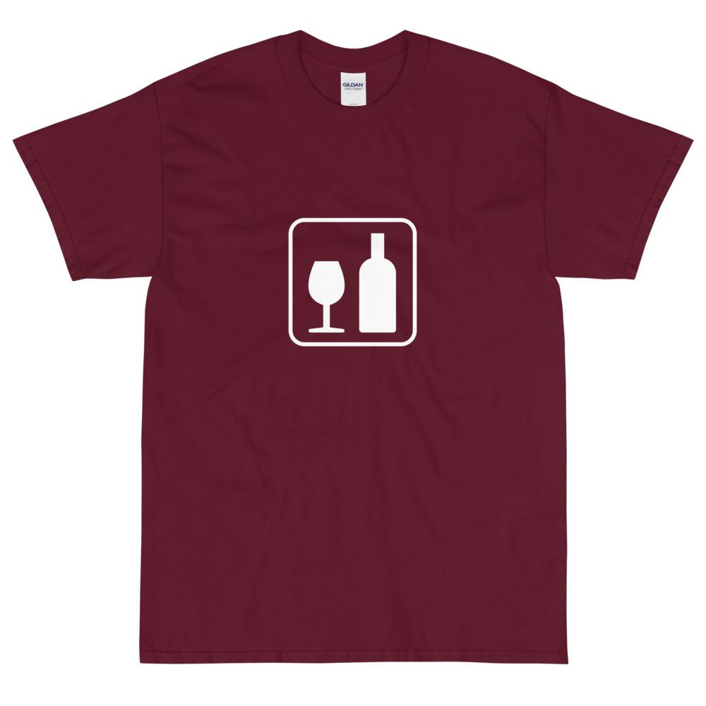 Wine Icon T-Shirt-Fell Casuals