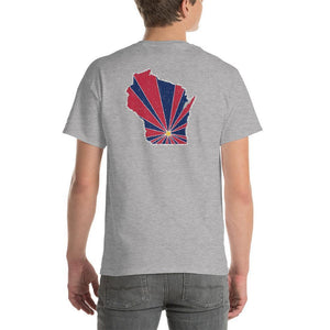 Wisconsin Starburst T-Shirt-Fell Casuals