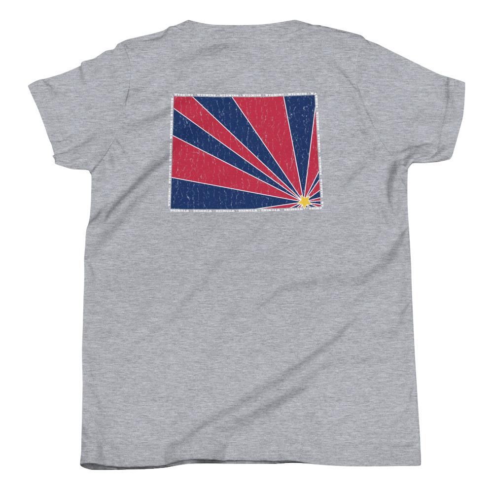 Wyoming Starburst Youth T-Shirt-Fell Casuals