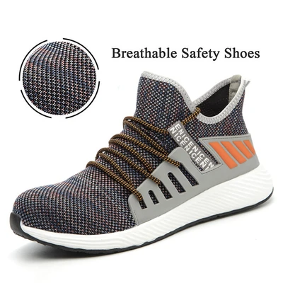 2020 New Style Men&Women Steel-toe Safety Work Sneakers