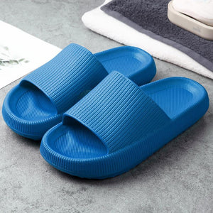 Comfort Spring Pillow Slides Sandals For Woman