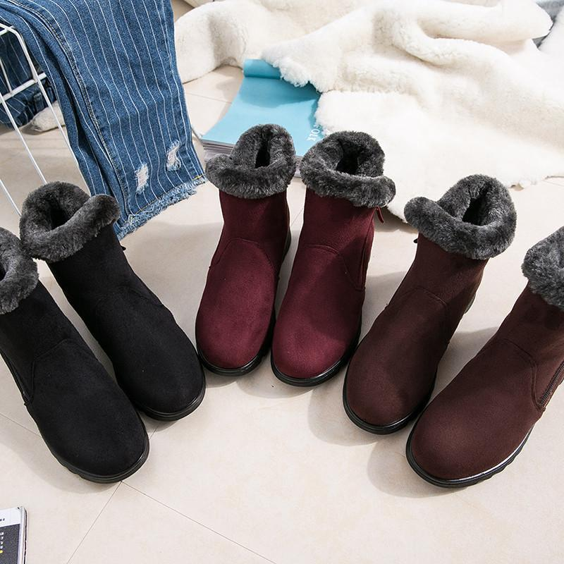 Women Winter Non-slip Soft Warm Boots