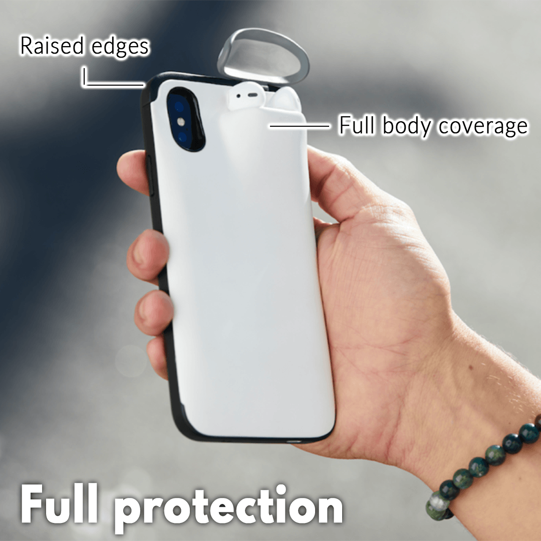 2-in-1 Airpod iPhone Case