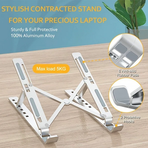 Adjustable Foldable Laptop Stand Non-Slip Desktop Holder