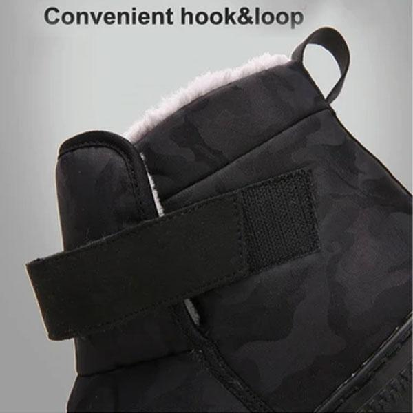 2020 WARM FUR PLUSH ANKLE WATERPROOF COUPLE SNOW BOOTS