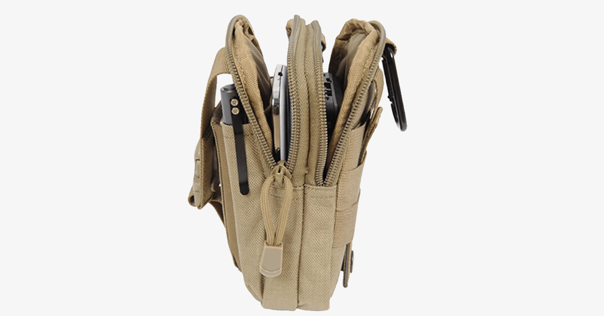 Outdoor Waterproof  Military Tactical Waist Pack