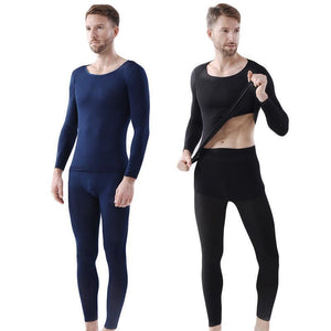 Seamless Elastic Thermal Inner Wear Set