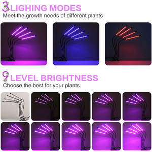 LED Plant Grow Light Strips Full Spectrum For Indoor Plants