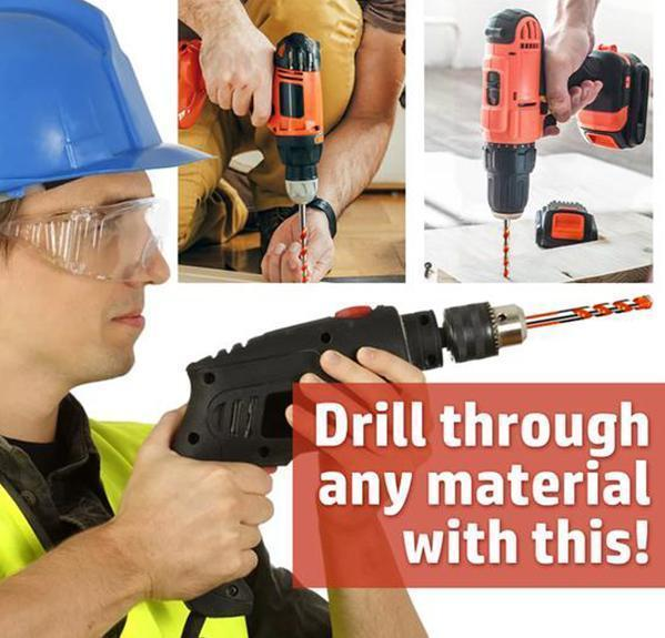 Triangular Overlord Multifunctional Drill Bit