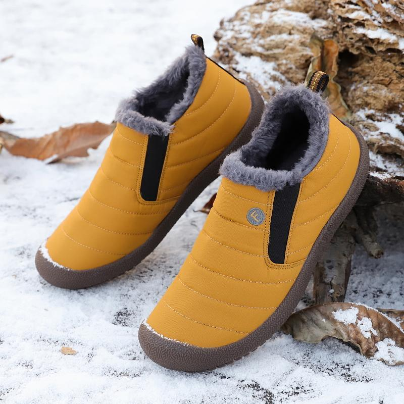 Men's Cotton Velvet Winter Warm Non-slip Shoes
