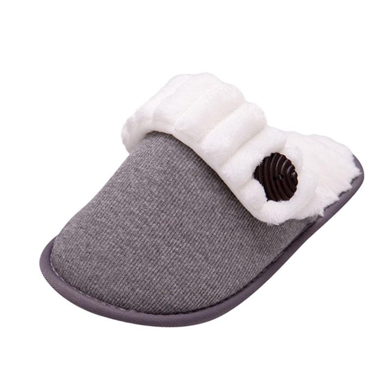 Women Plus Cashmere Knitted Slippers