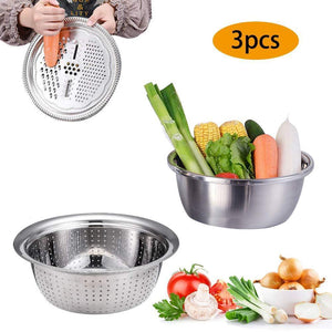 Multifunctional stainless steel basin-Buy 2 free shipping&get 10% off
