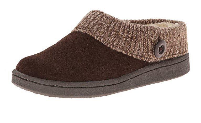 Winter Fur Warm Scuff Slipper for Woman