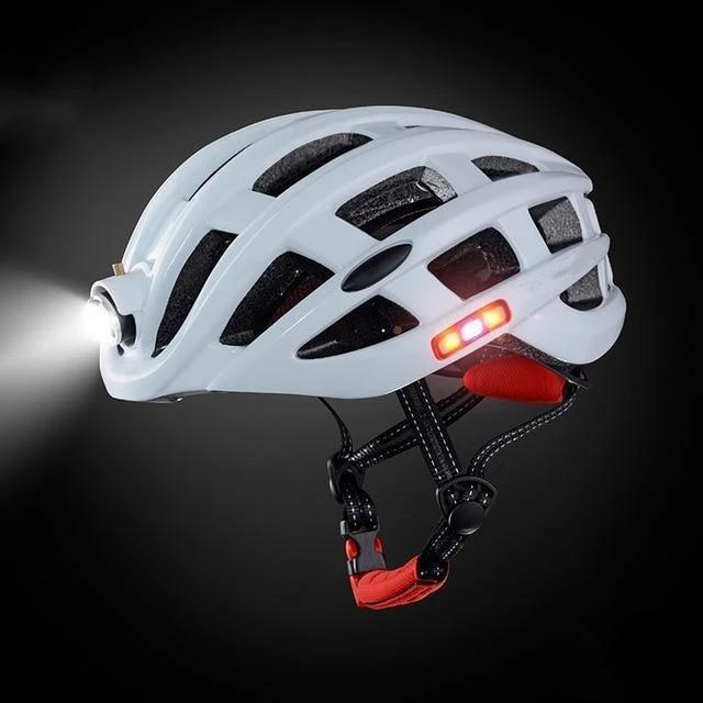 Smart Bike Helmet with LED Light 5 Colors