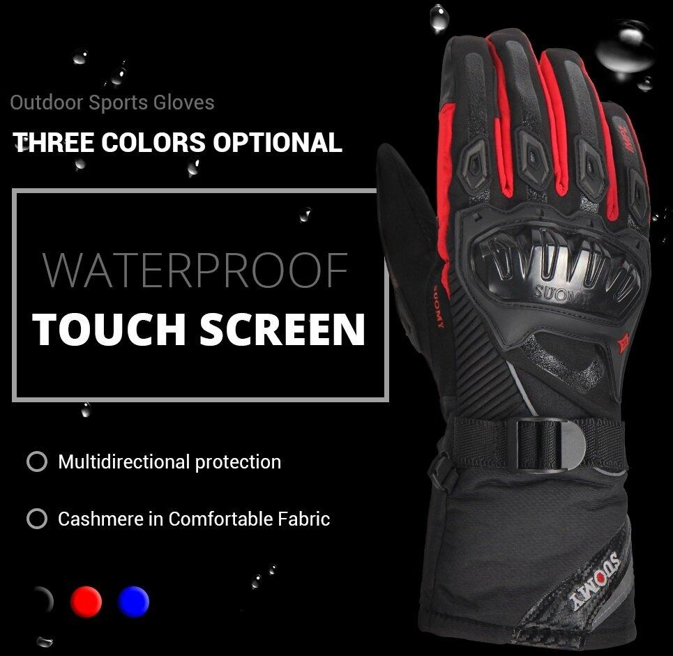 Military Tactical Waterproof Windproof Warm Gloves